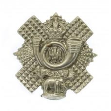 Highland Light Infantry (H.L.I.) Collar Badge - King's Crown