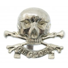 17th/21st Lancers Anodised (Staybrite) Cap Badge (Motto)