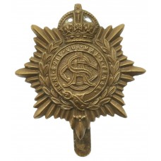 Army Service Corps (A.S.C.) WW1 Economy Cap Badge (Non Voided Cen