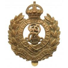 Edward VII Royal Engineers Cap Badge