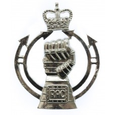 Royal Armoured Corps (R.A.C.) Anodised (Staybrite) Cap Badge