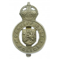 Cardiff City Police Cap Badge - King's Crown