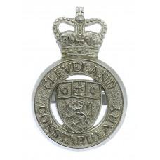 Cleveland Constabulary Cap Badge - Queen's Crown