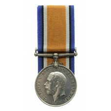 WW1 British War Medal - Pte. E.W. Parker, 5th Bn. King's Own York