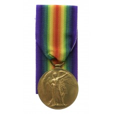 WW1 Victory Medal - Pte. B. Jubb, King's Own Yorkshire Light Infa