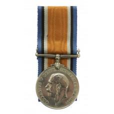 WW1 British War Medal - Pte. J. Hunter, 2/5th Bn. King's Own York