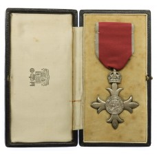 Member of the Most Excellent Order of the British Empire MBE (Civil Division) - 2nd Type