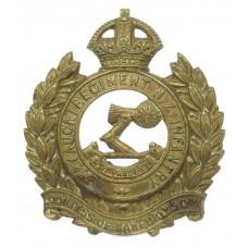 3rd Auckland Regiment New Zealand Infantry Cap Badge - King's Cro