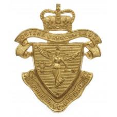 Australian Melbourne University Regiment Cap Badge - Queen's Crow