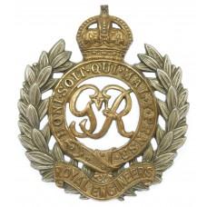 George VI Royal Engineers Bi-Metal Cap Badge