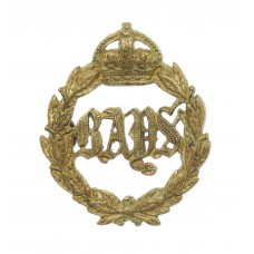 2nd Dragoon Guards (Queen's Bays) Officer's Gilt Collar Badge - K