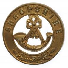 King's Shropshire Light Infantry (K.S.L.I.) Helmet Plate Centre