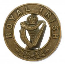 Royal Irish Regiment Pagri Badge - King's Crown