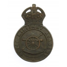 Royal Military Academy Woolwich Officer Cadet Cap Badge - King's