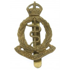 Royal Army Medical Corps (R.A.M.C.) Cap Badge - King's Crown