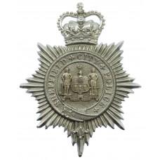 Sheffield City Police Helmet Plate - Queen's Crown
