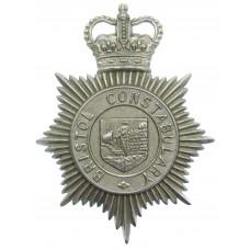 Bristol Constabulary Helmet Plate - Queen's Crown