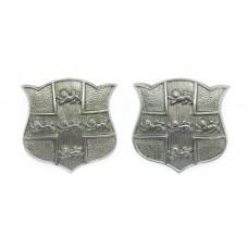 Pair of York City Police Collar Badges