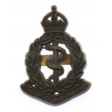 Royal Army Medical Corps (R.A.M.C.) WW2 Plastic Economy Cap Badge
