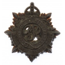 George VI Royal Army Service Corps (R.A.S.C.) WW2 Plastic Economy Cap Badge