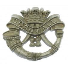 Duke of Cornwall's Light Infantry WW2 Plastic Economy Cap Badge