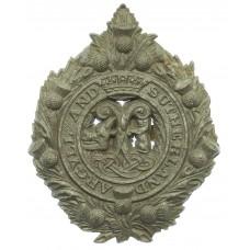 Argyll & Sutherland Highlanders WW2 Plastic Economy Cap Badge