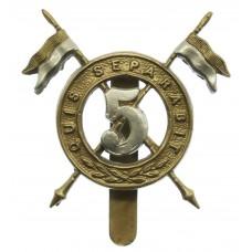 5th Royal Irish Lancers Cap Badge