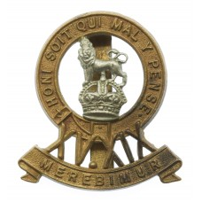 15th/19th King's Hussars Cap Badge - King's Crown