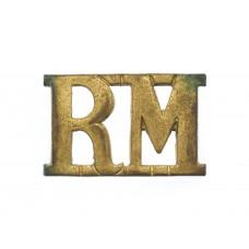 Royal Marines (R.M.) Shoulder Title