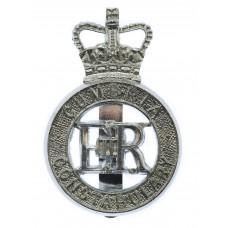 Cumbria Constabulary Cap Badge - Queen's Crown