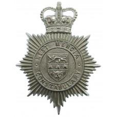 West Mercia Constabulary Helmet Plate - Queen's Crown