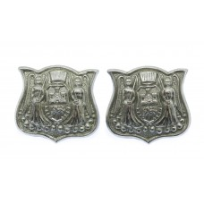 Pair of Norwich City Police Collar Badges