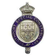 Southport Special Constabulary Enamelled Cap Badge