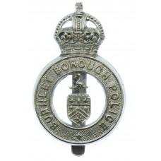 Burnley Borough Police Cap Badge - King's Crown