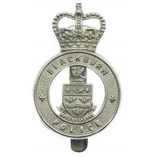 Blackburn Borough Police Cap Badge - Queen's Crown