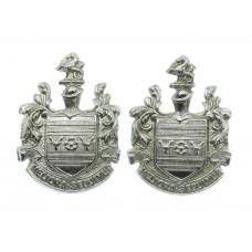 Pair of Eastbourne Borough Police Collar Badges