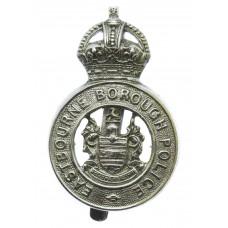Eastbourne Borough Police Cap Badge - King's Crown
