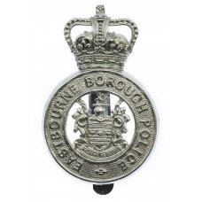 Eastbourne Borough Police Cap Badge - Queen's Crown