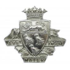 Canterbury City Police Chrome Cap Badge