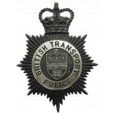 British Transport Police (B.T.P.) Night Helmet Plate - Queen's Crown