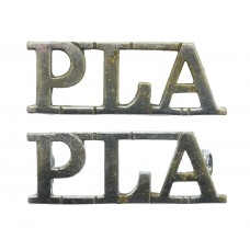Pair of Port of London Authority Police (P.L.A.) Shoulder Titles