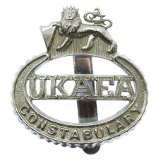 United Kingdom Atomic Energy Authority (U.K.A.E.A.) Constabulary Cap Badge - Queen's Crown