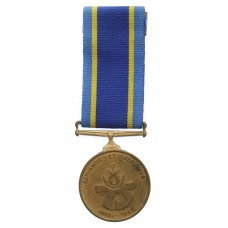 South African Police 75th Anniversary Medal - A.R. Kst. C.G.J. Coetzer