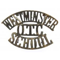 Westminster School O.T.C. (WESTMINSTER/O.T.C./SCHOOL) Shoulder Ti