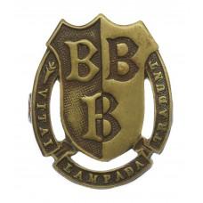 Bridlington Grammar School, Yorkshire O.T.C. Cap Badge