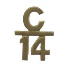 Canadian 14th Infantry Battalion (Royal Montreal Regiment) WW1 C.