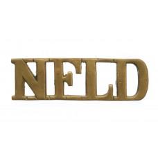 Canadian WW1 1st Newfoundland Regiment (NFLD) Shoulder Title
