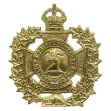 Canadian Hastings & Prince Edward Regiment Cap Badge - King's