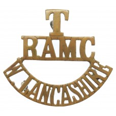 West Lancashire Territorials Royal Army Medical Corps (T/R.A.M.C./W. LANCASHIRE) Shoulder Title