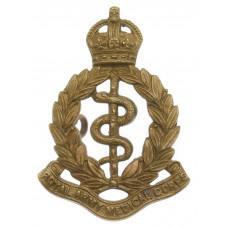 Edwardian Royal Army Medical Corps (R.A.M.C.) Cap Badge - King's